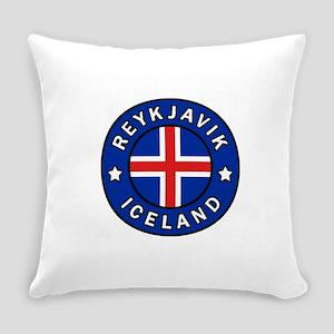 Reykjavik Iceland Everyday Pillow