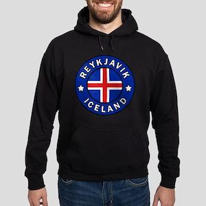 Reykjavik Iceland Hoodie (dark)