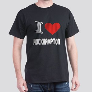 I Love Rockhampton City Dark T-Shirt