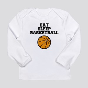 Eat Sleep Basketball Long Sleeve T-Shirt