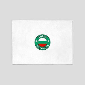 Sofia Bulgaria 5'x7'Area Rug