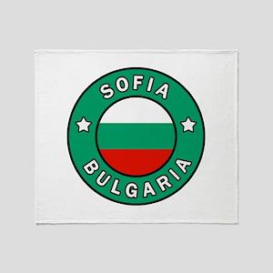 Sofia Bulgaria Throw Blanket