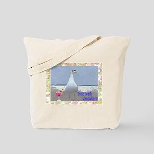 Beach seagull Tote Bag