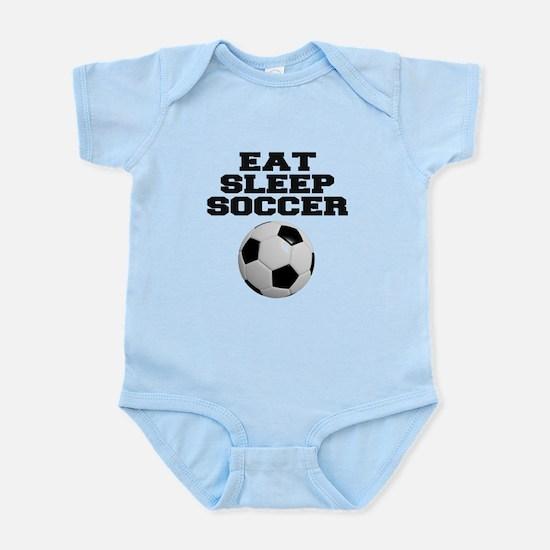 Eat Sleep Soccer Body Suit
