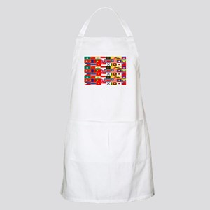 Asian Flags Apron