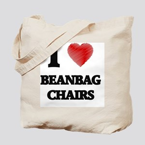 I love Beanbag Chairs Tote Bag