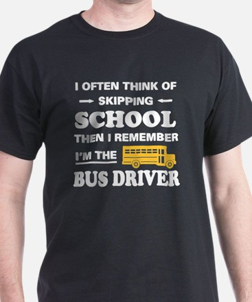 Cool Bus driver T-Shirt