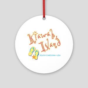 Kiawah Island - Round Ornament