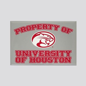 Property of University of Houston Rectangle Magnet