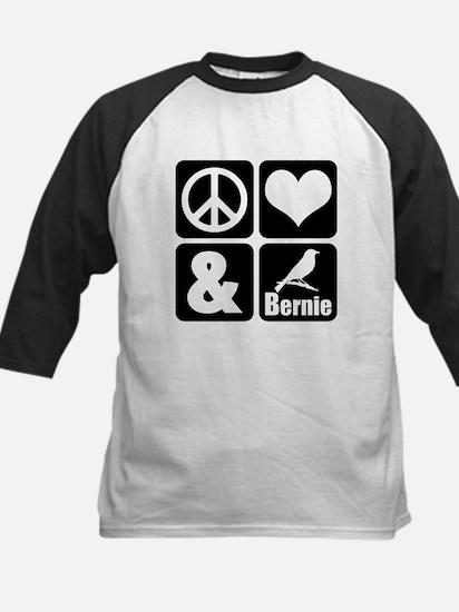 Peace Love Bernie Baseball Jersey