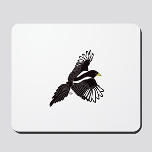Flying Magpie Mousepad