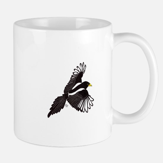 Flying Magpie Mugs