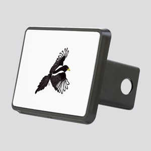 Flying Magpie Rectangular Hitch Cover
