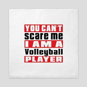 I Am Volleyball Player Queen Duvet