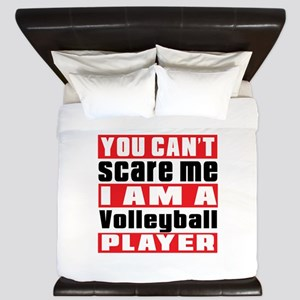 I Am Volleyball Player King Duvet
