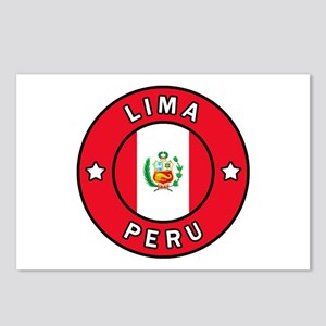 Lima Peru Postcards (Package of 8)