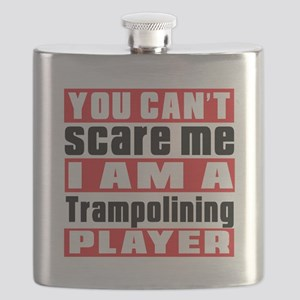 I Am Trampolining Player Flask