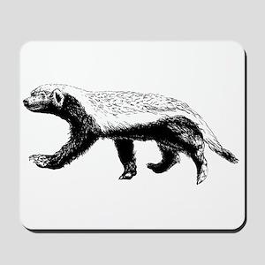 Honey Badger Trott Mousepad