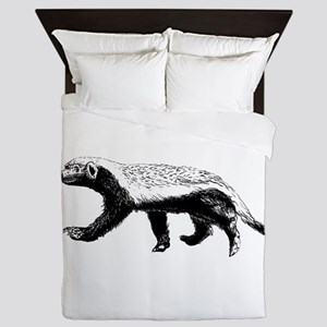 Honey Badger Trott Queen Duvet