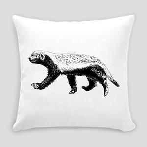 Honey Badger Trott Everyday Pillow