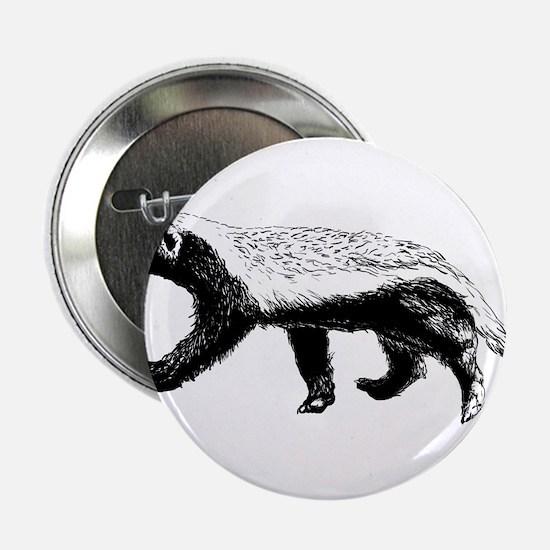 """Honey Badger Trott 2.25"""" Button (10 pack)"""
