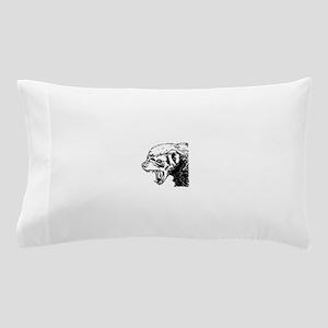 Honey Badger Scream Pillow Case