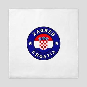 Zagreb Croatia Queen Duvet