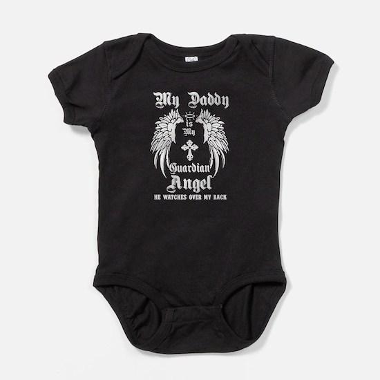MY DADDY IS MY GUARDIAN ANGEL Baby Bodysuit