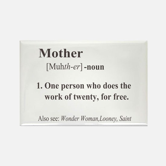 Mother Definition Rectangle Magnet (100 pack)