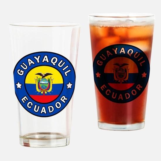 Cute Ecuador Drinking Glass