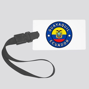 Guayaquil Ecuador Large Luggage Tag