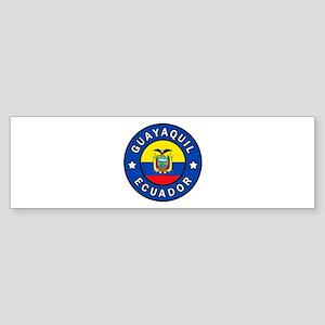 Guayaquil Ecuador Bumper Sticker