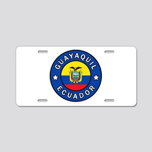 Guayaquil Ecuador Aluminum License Plate