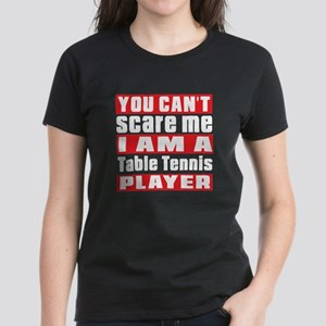 I Am Table Tennis Player Women's Dark T-Shirt