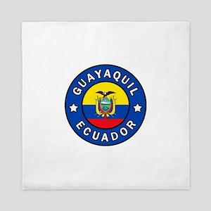 Guayaquil Ecuador Queen Duvet