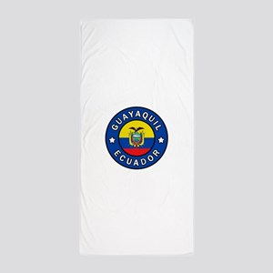 Guayaquil Ecuador Beach Towel