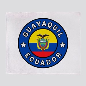 Guayaquil Ecuador Throw Blanket