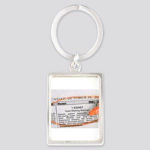 Wanted: 1 kidney Keychains