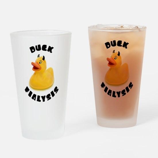 Duck Fialysis Drinking Glass
