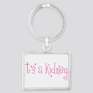 Its a Kidney! (pink) Keychains