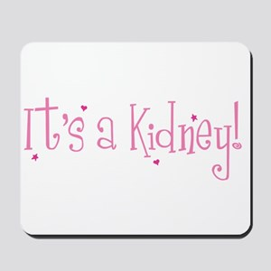 Its a Kidney! (pink) Mousepad