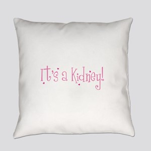 Its a Kidney! (pink) Everyday Pillow