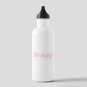 Its a Kidney! (pink) Water Bottle