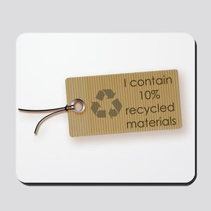 I contain 10% recycled materials (horizontal) Mous