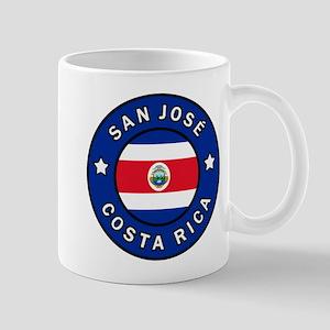 San Jose Costa Rica Mugs