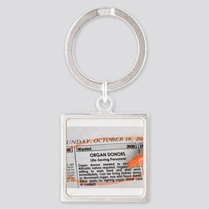 Wanted: Organ Donors Keychains