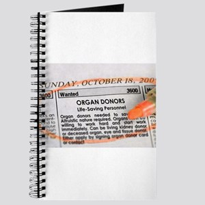 Wanted: Organ Donors Journal