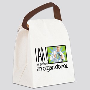 I am a superhero. I am an organ donor. Canvas Lunc