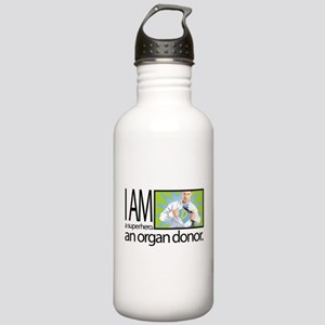 I am a superhero. I am an organ donor. Water Bottl