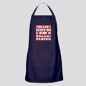 I Am Soccer Player Apron (dark)